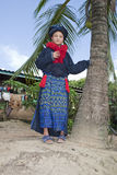 Asian woman, Yao, from Laos Stock Image