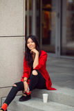 Asian woman young worker Royalty Free Stock Photos