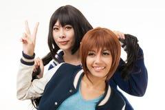 Asian women cosplay Stock Photos