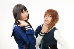 Asian women cosplay Royalty Free Stock Image