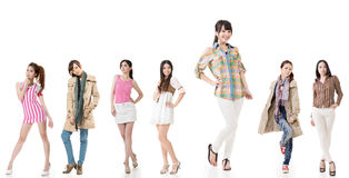 Asian women Royalty Free Stock Photography