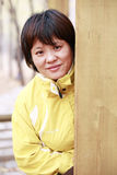 Asian women outdoor Stock Image