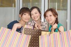 Asian women shopping Royalty Free Stock Image