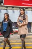Asian women walking Royalty Free Stock Photo