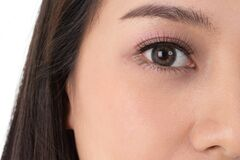 Free Asian Women With Beautiful, Sparkling Big Eyes. Royalty Free Stock Images - 176170709