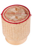 Asian wood basket Stock Photography