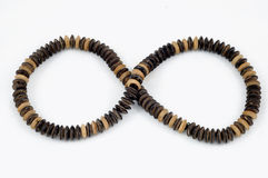 Asian wooden beads Royalty Free Stock Images