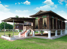 Free Asian Wooden House Stock Image - 92390991