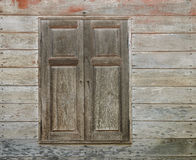 Asian wooden window style Stock Images