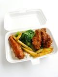 Take away food, Asian royalty free stock photography