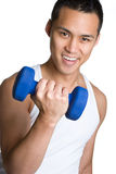 Asian Workout Man Stock Image
