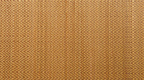 Asian woven wood or rattan mat texture background Stock Images