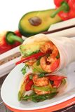 Asian Wrap Royalty Free Stock Images