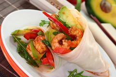 Asian Wrap Royalty Free Stock Image