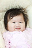 Asian young baby girl Royalty Free Stock Photos