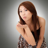 Asian young beauty Royalty Free Stock Images
