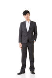 Asian young business man Royalty Free Stock Photo