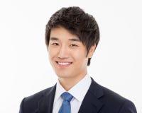 Asian young business man close up shot. Royalty Free Stock Photos