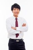 Asian young business man Stock Photos
