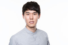 Asian young business man in studio Stock Photography
