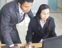 Asian young Business People Stock Photos