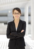 Asian young business woman Stock Image