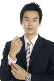 Asian young businessman Royalty Free Stock Image
