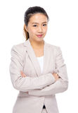 Asian young businesswoman Stock Photography