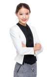 Asian young businesswoman Stock Image