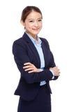 Asian young businesswoman portrait Stock Photo
