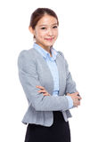 Asian young businesswoman portrait Royalty Free Stock Photos