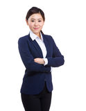 Asian young businesswoman portrait Royalty Free Stock Image