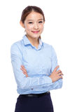 Asian young businesswoman portrait Royalty Free Stock Images