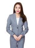Asian Young Businesswoman portrait stock images
