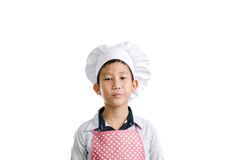 Asian young chef Royalty Free Stock Photo