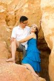 Asian young couple Royalty Free Stock Photos