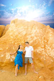 Asian young couple Royalty Free Stock Images