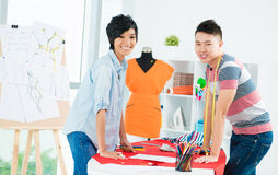 Asian young designer Stock Photography