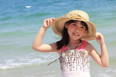 Asian young girl Stock Images