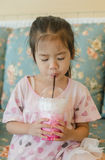Asian young girl Royalty Free Stock Photography