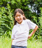 Asian young girl Stock Photo