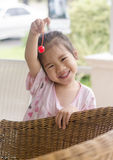 Asian young girl . Stock Image