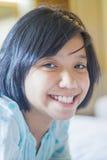 Asian young girl smile Royalty Free Stock Photos