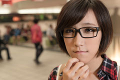 Asian young girl Stock Photography