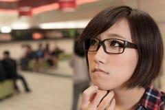 Asian young girl Royalty Free Stock Photos