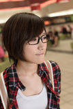 Asian young girl Stock Image