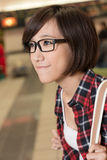 Asian young girl Royalty Free Stock Photo