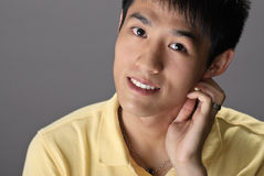 Asian young guy Stock Image