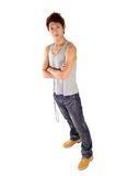 Asian young guy Stock Photography