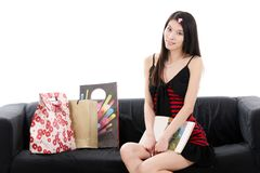 Asian young lady Stock Photography